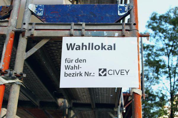 Civey Wahlsonntag