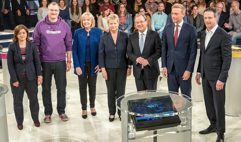 Die NRW Spitzenkandidat_innen im Talk