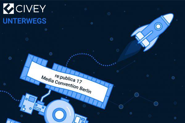 Civey unterwegs auf der re:publica