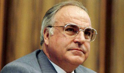 Welches Bild hat Helmut Kohl als Politiker bei Ihnen hinterlassen?